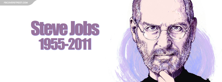 Steve Jobs Drawing Facebook Cover
