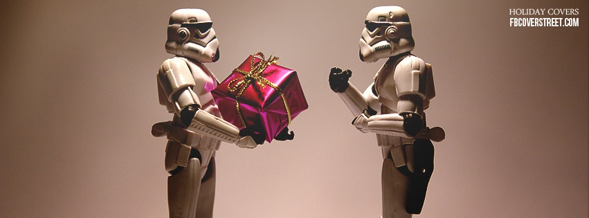 Storm Trooper Christmas Facebook cover