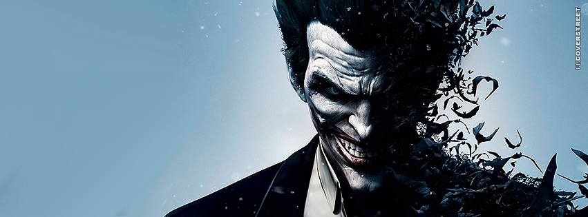 The Joker Batman Arkham Facebook Cover