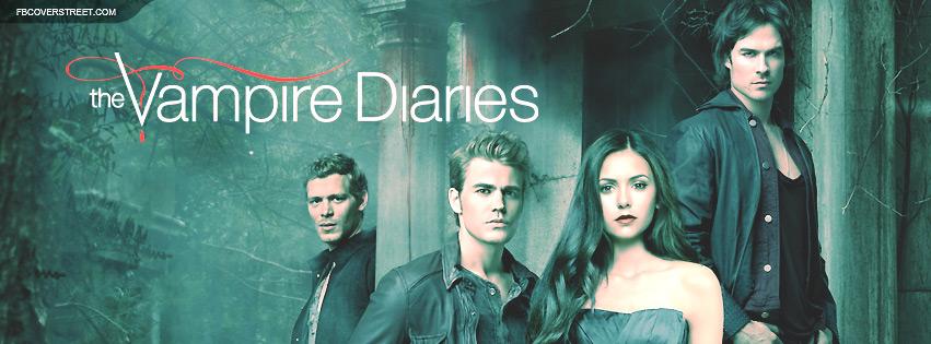 The Vampire Diaries 4 Facebook Cover