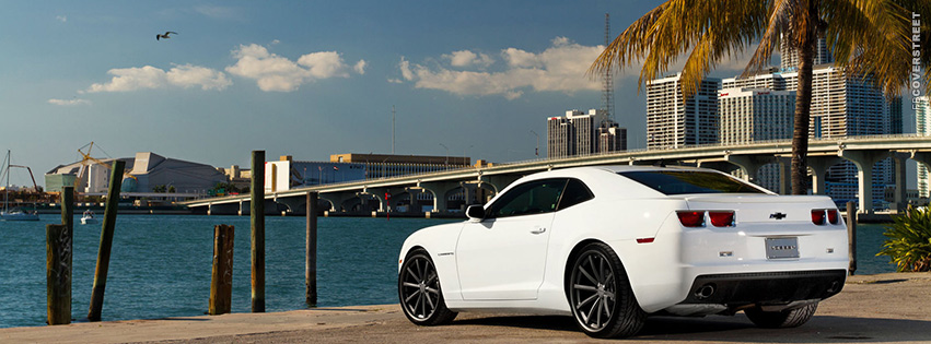 Chevrolet Camaro Miami View  Facebook cover