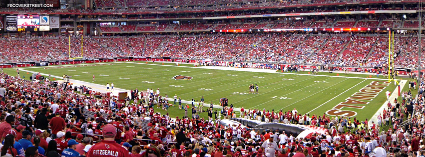 University of Phoenix Stadium Arizona Cardinals  Facebook cover