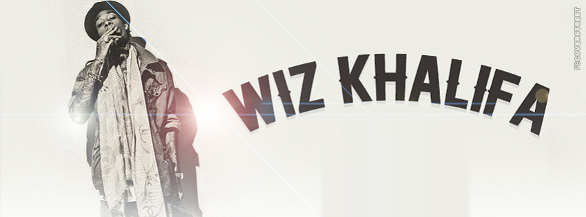 Wiz Khalifa Simple Light Facebook cover
