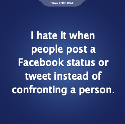 Facebook Twitter Cowards Facebook picture