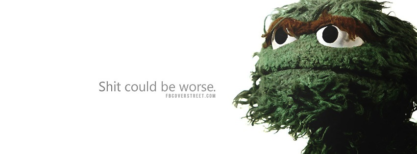Oscar The Grouch Facebook Covers - FBCoverStreet.com