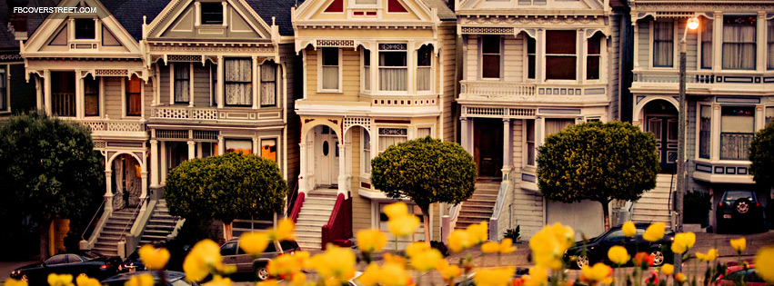 San Francisco Painted Ladies Facebook Cover