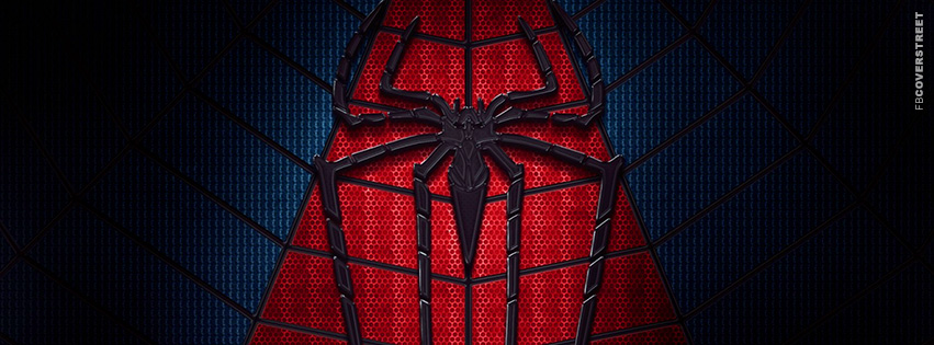 The Amazing Spiderman Suit Logo  Facebook Cover