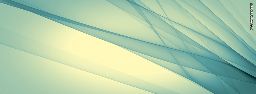 Abstract Light Blue  Facebook Cover