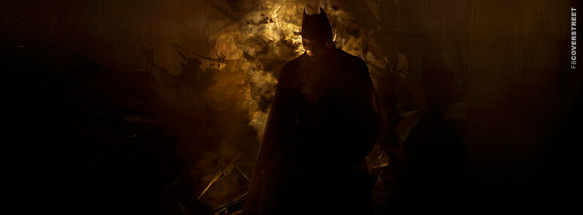 Batman Begins Poster  Facebook Cover