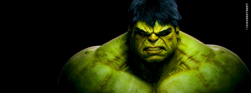 The Hulk Awesome Movie Facebook Cover