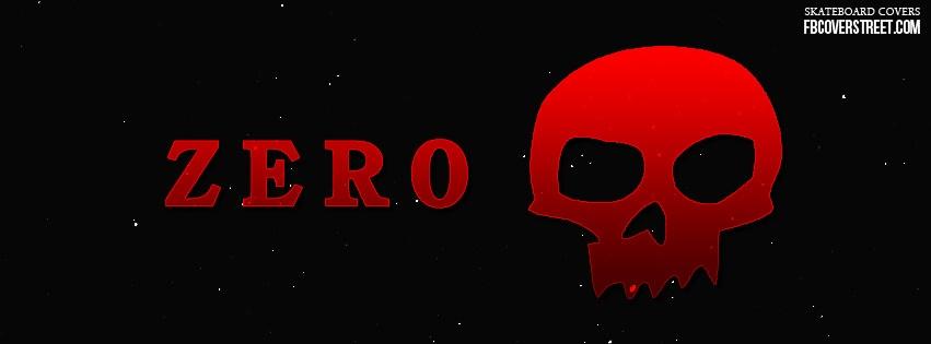 Zero Skateboards Logo Facebook Cover
