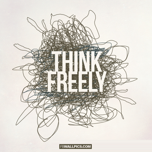 Think Freely  Facebook Pic