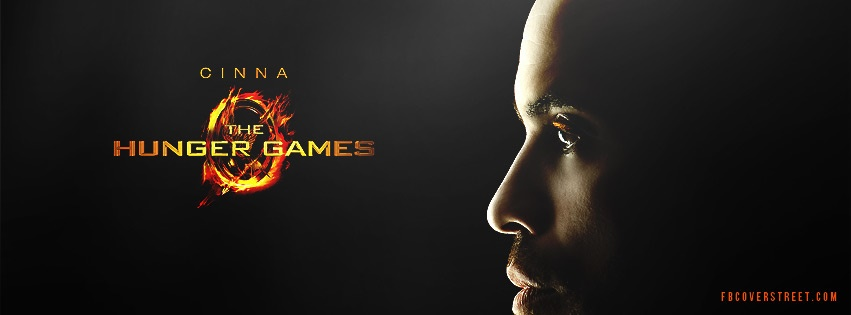 Cinna Hunger Games Facebook cover