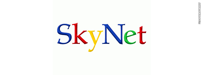 Sky Net Google Logo  Facebook cover
