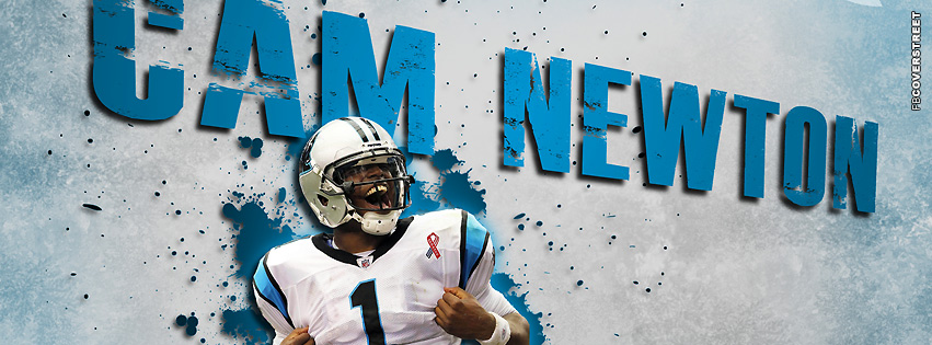 Carolina Panthers Cam Newton Number 1 Facebook cover