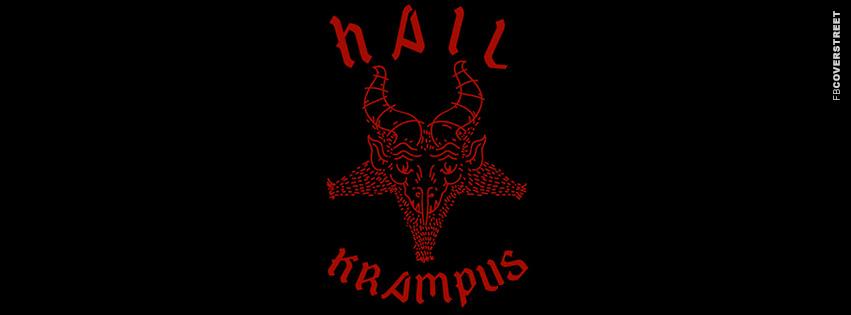 Hail Krampus  Facebook cover
