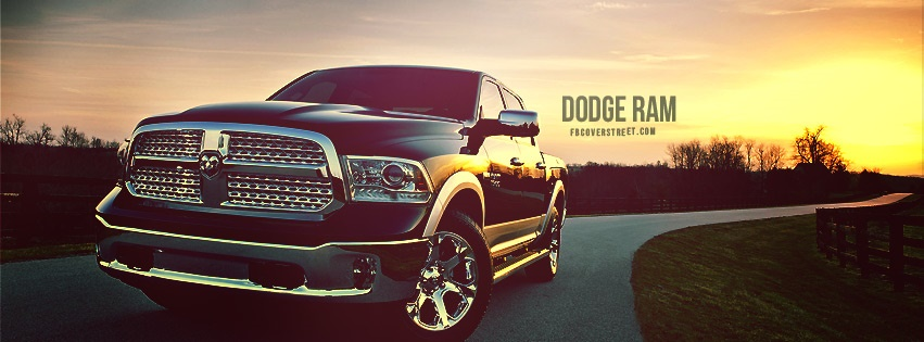Dodge Ram 2 Facebook cover