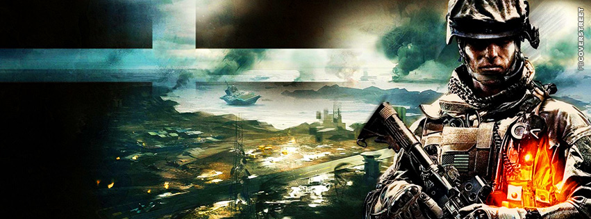 Battlefield 3 B2K  Facebook cover