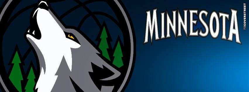 Minnesota Timberwolves Logo Facebook Cover  Facebook cover
