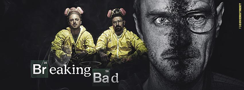 Breaking Bad Walt and JEsse Digital Artwork Facebook Cover