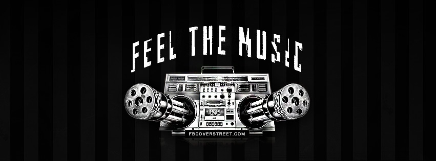 Feel The Music Facebook Cover