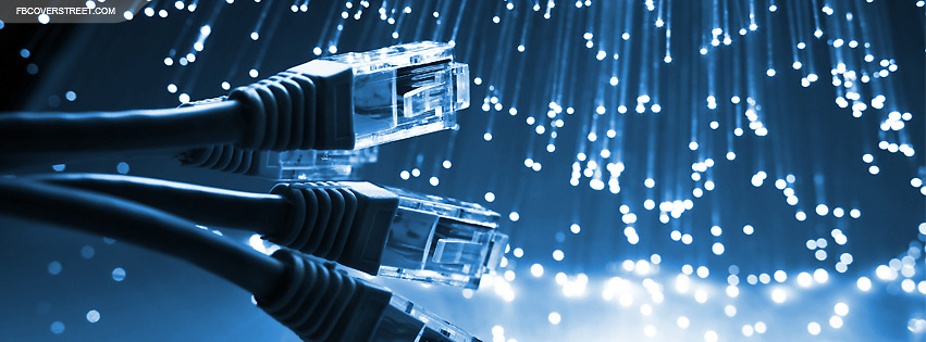 Network Cables and Fiber Optics Facebook Cover
