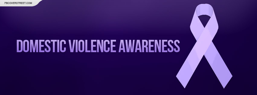 Domestic Violence Awareness Facebook Cover