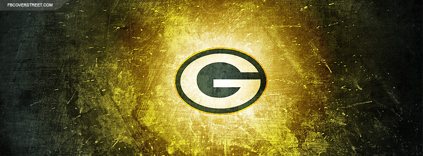 Green Bay Packers Logo 4 Facebook Cover