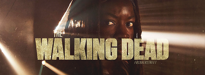 The Walking Dead Season 5 Michonne Facebook cover