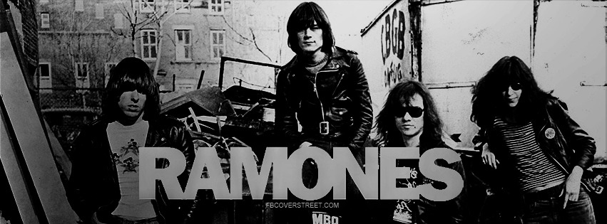 The Ramones Facebook Cover