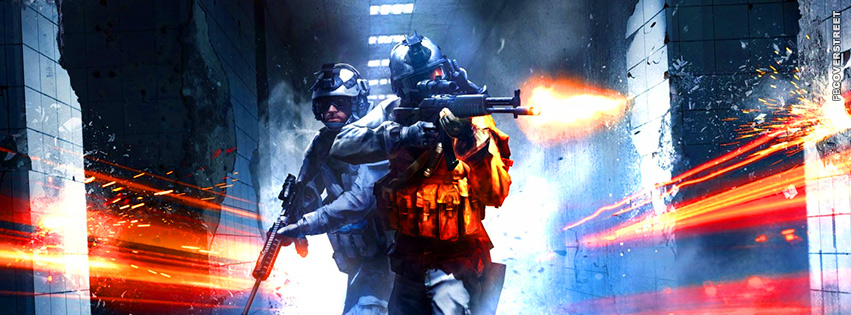 Battlefield 3 Hall Search 2  Facebook Cover
