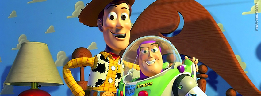 Toy Story Buzz Lightyear and Woody Pals Facebook Cover