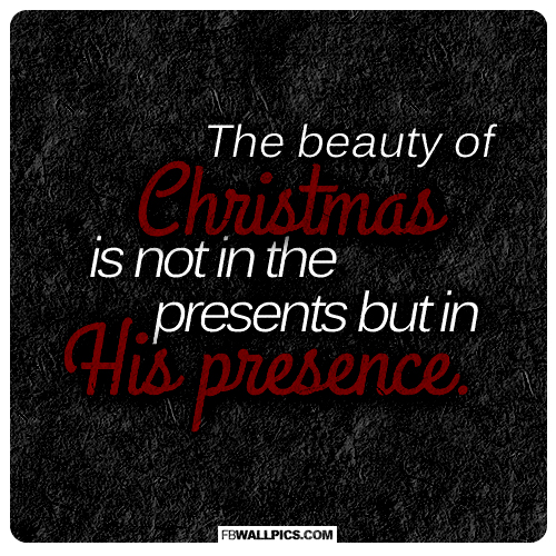 The Beauty of Christmas  Facebook picture