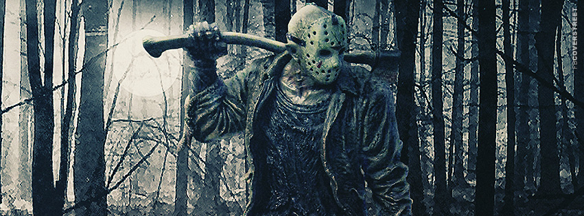 Jason Creepin In The Woods Facebook Cover