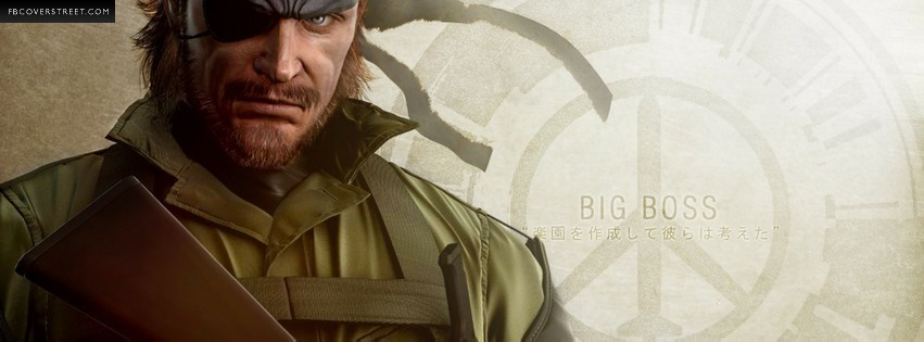 Metal Gear Solid Facebook Cover