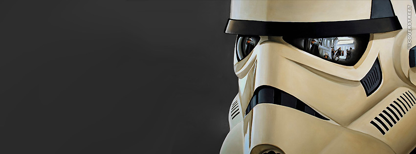 Stormtrooper Helmet  Facebook Cover