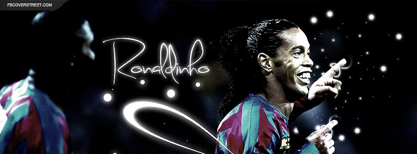 Ronaldinho 2 Facebook cover