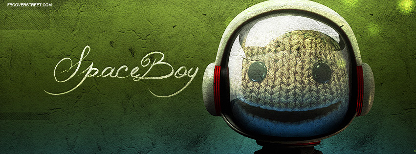 Little Big Planet Space Boy Facebook Cover