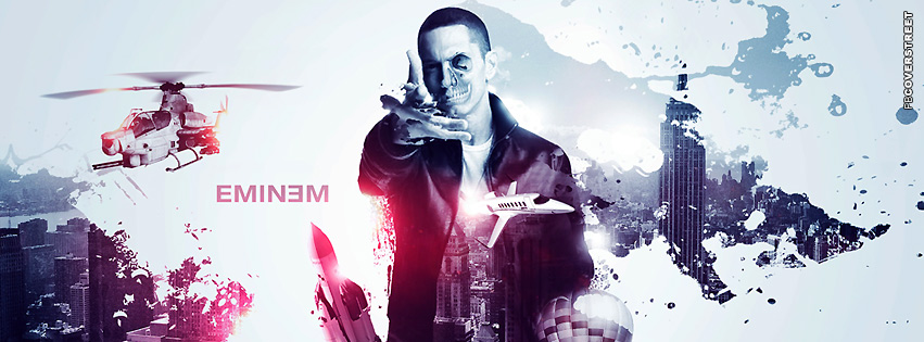 Eminem Abstract Edit  Facebook Cover