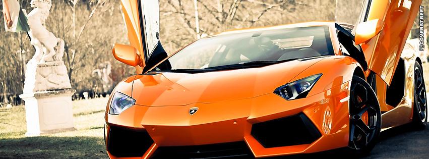 Super Lamborghini Aventador  Facebook cover