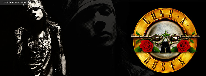 Axl Rose Guns and Roses Facebook Cover