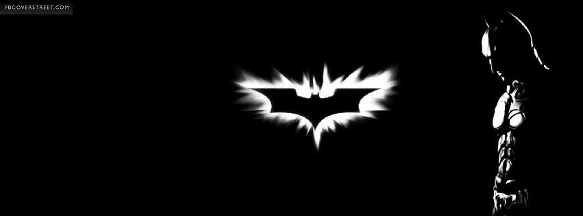 Batman And The Bat Symbol Facebook Cover Fbcoverstreet