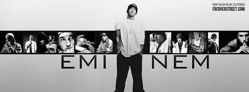Eminem Collage Facebook cover