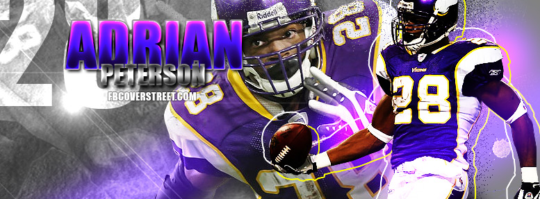 Adrian Peterson Facebook cover