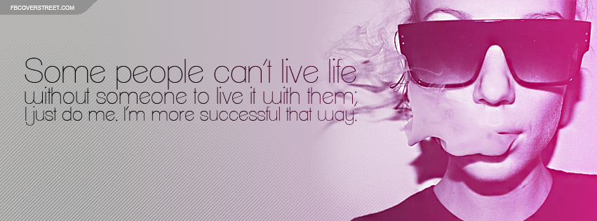 I Just Do Me Quote Pink Facebook Cover Fbcoverstreetcom