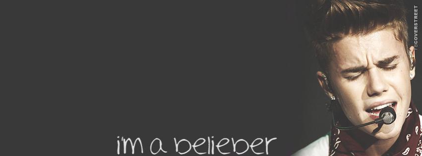 Im A Belieber Justin Bieber Facebook cover