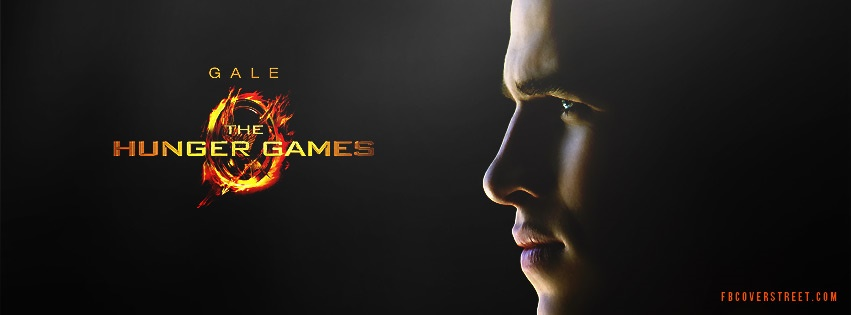 Gale Hunger Games Facebook cover