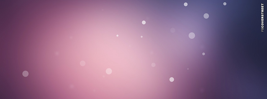 Purple Dots  Facebook cover