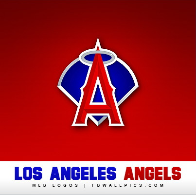 Los Angeles Angels of Anaheim Logo Facebook Pic