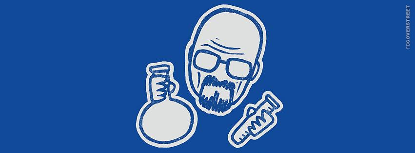 Heisenberg Minimal Walter White Chemist Facebook Cover